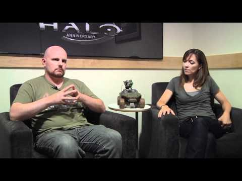 343 industries - Frank O'Connor and Bonnie Ross from 343 Industries explain the origin and history of the studio and how the team plans to tackle Halo 4.