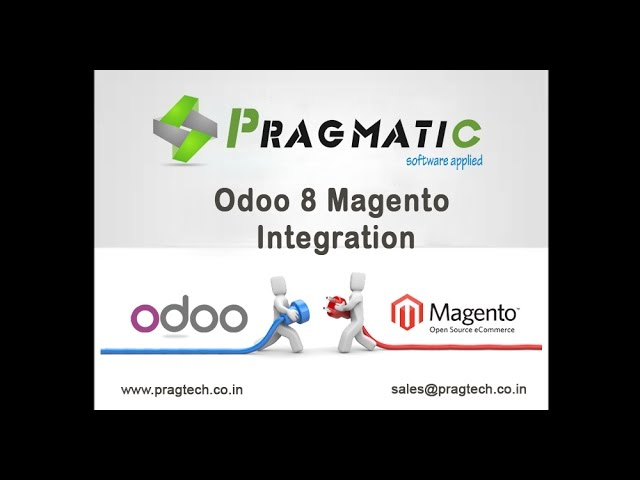 Odoo 8 Magento Integration
