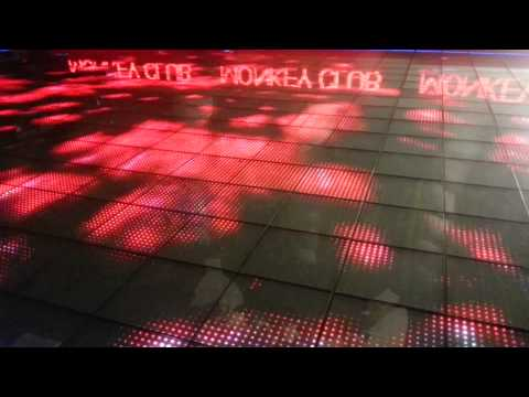 Mardan Palace Otel Zemin Led Ekran Uygulaması P50mm. RGB