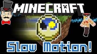 Minecraft Mods - SLOW MOTION Mod! Control Time, Super Speed, Slow Explosions&More!