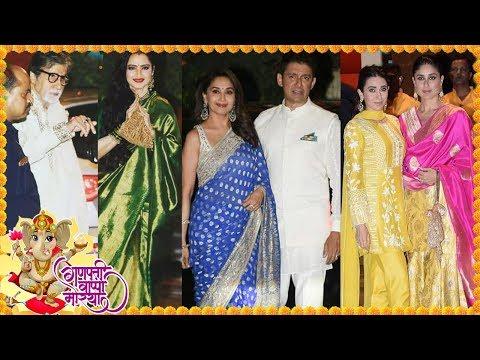 Shah Rukh, Aamir, Salman & Other Bollywood Celebs