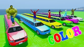 Learn COLORS LONG CARS Trainsporation w Truck Trailer In Superheroes Carstoon For KidsWelcome to Car And Friends Channel. Video Learn Color & Number For KidsThis Channel is about cartoon characters as Spiderman, Hulk, Elsa...with music as finger family, nursery rhymes For Children!Thank For Watch!Playlist :Collection Learn Numbers Video For Kids With Spiderman Cars  : https://www.youtube.com/watch?v=LGEMBndDVZs&list=PLeiK9SGD5dcyj_n1Hp0Z4Yx6mc3jPrnOjCollection Learn Colors For Kids With Spiderman Cars Cartoon :https://www.youtube.com/watch?v=LGEMBndDVZs&list=PLeiK9SGD5dczlFB53UXxxW4RDKgKE1vc-Learn Colors Cars with Spiderman Nursery Rhymes  : https://www.youtube.com/watch?v=LGEMBndDVZs&list=PLeiK9SGD5dcwwwtCHLWgk0Unc5DTjEhfbLearn Number Cars And Trucks W Spiderman Cars Cartoon : https://www.youtube.com/watch?v=LGEMBndDVZs&list=PLeiK9SGD5dcxCq5t6fbAHtUaPjIRqSMFy