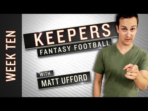 Fantasy Football Week 10 – Keepers