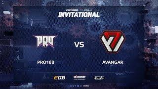 pro100 vs AVANGAR, map 3 mirage, SL i-League Invitational Shanghai 2017 CIS Qualifier