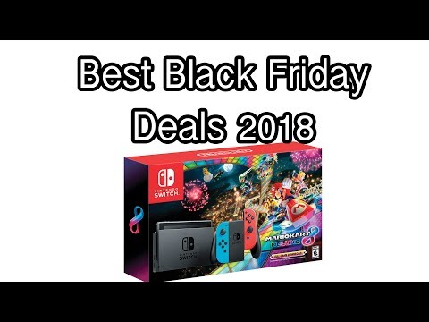 2018 Black Friday Nintendo Deals