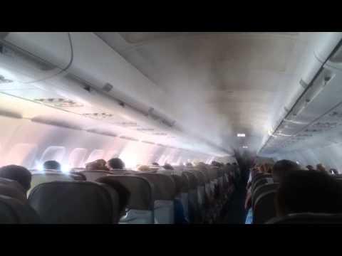 Видео из самолета Когалымавиа разбившегося в Египте 31.10.2015 (видео)