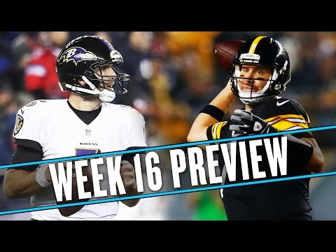 Video: NFL Week 16 preview: Can the Ravens beat the Steelers for the 7th time in 8 games? | Uffsides