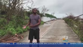 Miami-Based Journalist Shares Video Of Hurricane Maria's Destruction In St. Thomas