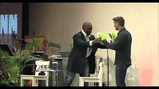 Nigel Benn Punches Church Pastor