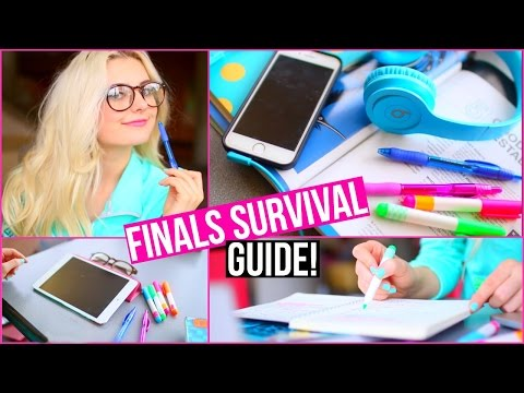 "Finals Survival Guide! Get an ""A"" Without Studying! 