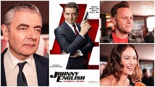 Johnny English Premiere - Rowan Atkinson, Olly Murs, Olga Kurylenko