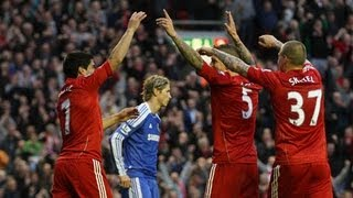 Chelsea Vs Liverpool (2-1) (Premier League Highlights) 29/12/13