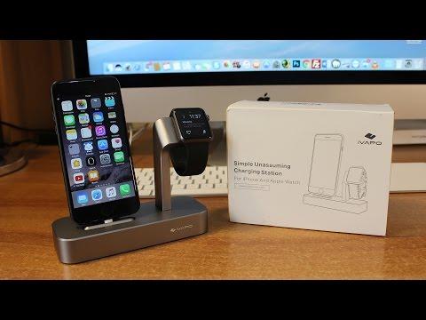 Recensione base di ricarica per Apple Watch e iPhone by LOPOO