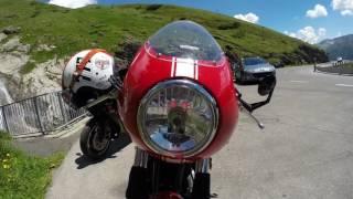 8. Grossglockner with the Triumph Thruxton 900 ST