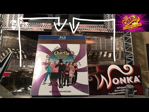 My Entertainment Collectibles:Charlie & The Chocolate Factory 10th Anniversary Blu-ray Edition