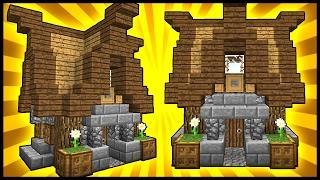 SMALL STYLISH HOUSE! - Minecraft Tutorial