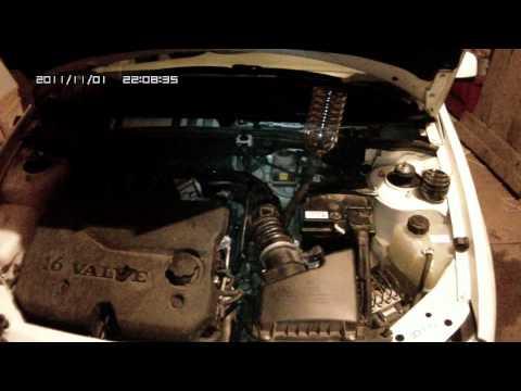 Как заменить масло в двигателе калины видео