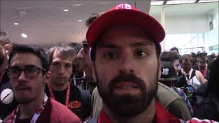 E3 2017 Day 2 Line RushBrief Summary: Being in line for E3 2017 for the 2nd day!  What can we expect?  Who will I see?  What else happens?  Watch and find out.  Thank you for watching!  Please like comment and subscribe!