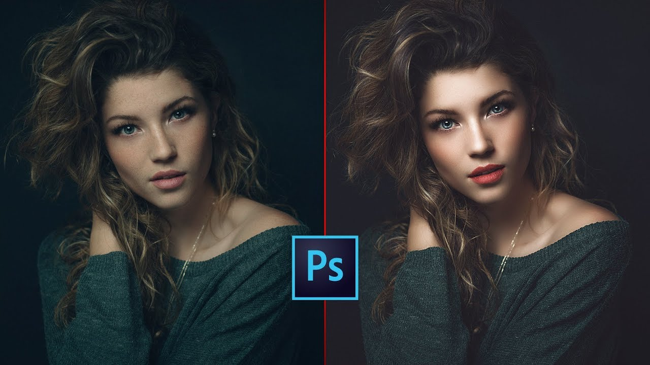 photo retouching tutorial skin softening