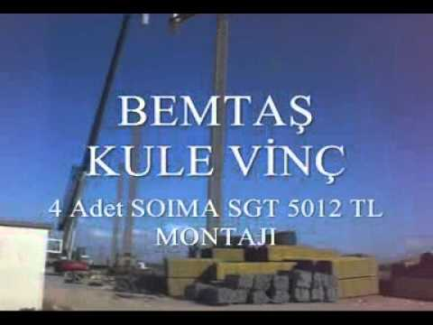 Bemtaş Kule Vinç Video