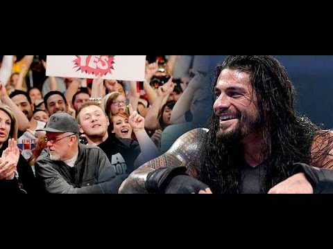 Video WWE's Most Offensive Anti-Roman Chants download in MP3, 3GP, MP4, WEBM, AVI, FLV January 2017
