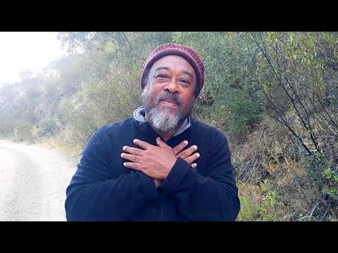 Mooji Moment: Stop! Take a Few Minutes to Just Be