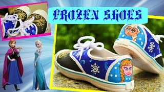 Frozen Inspired Canvas Shoes