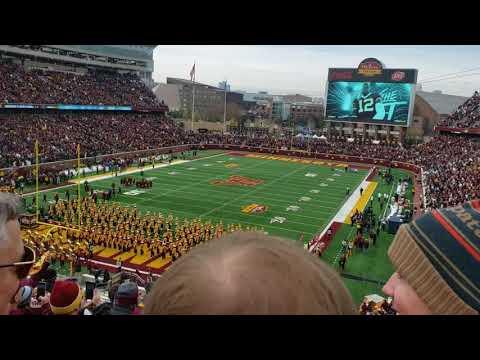 Gophers vs Penn state 2019