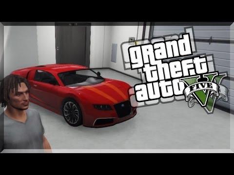 GTA ONLINE - FREE BUGATTI - JEDES AUTO KOSTENLOS VERSICHERN UND IN DER GARAGE PARKEN SOLO PATCH 1.11