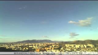 Timelapse Malaga 21/01/14 a 25/01/14
