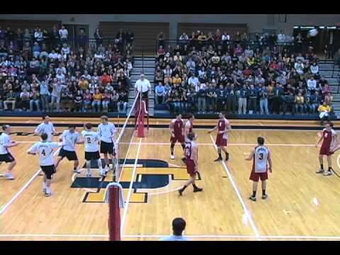 Men's volleyball drops a 3-1 decision to Ohio State