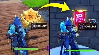 SECRET BANNER WEEK 2 SEASON 7 LOCATION! - Fortnite Battle Royale– WEEK 2 SECRET BATTLE STAR REPLACED