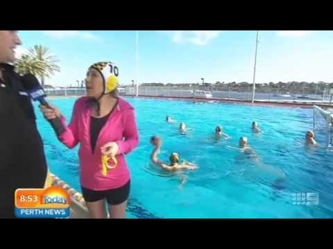 WA Institute of Sport - Water Polo - Part 2 | Today Perth News