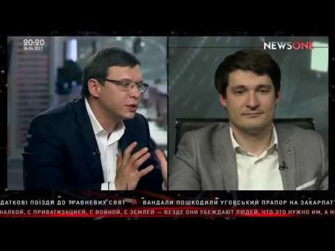 Евгений Мураев заткнул украинского политолога с его безвизом - DomaVideo.Ru