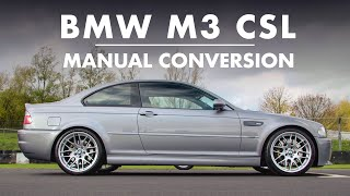 BMW E46 M3 CSL - CONVERTED TO MANUAL! | Carfection 4K by Carfection