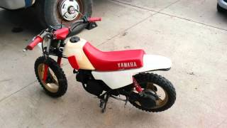 6. Yamaha pw50 - SOLD