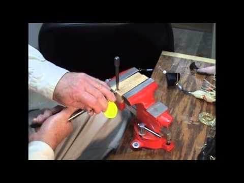 Will Wire Twist & Will Wire Wrap How To Make Lures Bucktails