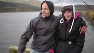 Italian guests Pike fishing in Scotland
