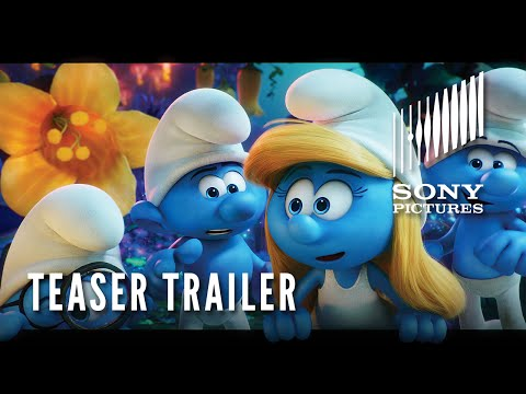 Watch First Teaser for Sony s New Smurfs Reboot Smurfs The Lost