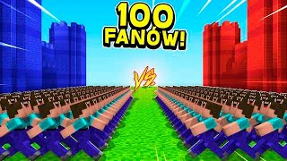Video 100 VS 100 WIDZÓW! MP3, 3GP, MP4, WEBM, AVI, FLV September 2019