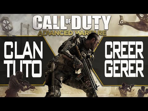 comment monter son clan call of duty ghost