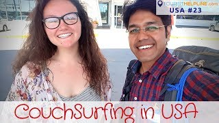 Couchsurfing USA   Culture, Hospitality, Farmer's Market, Village roads & SUNNY DEOL!!
