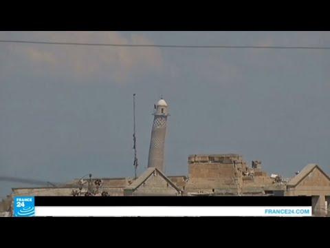تدمير مسجد النوري