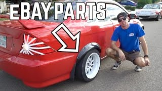 Honda Civic Fender Flare Install! by TJ Hunt