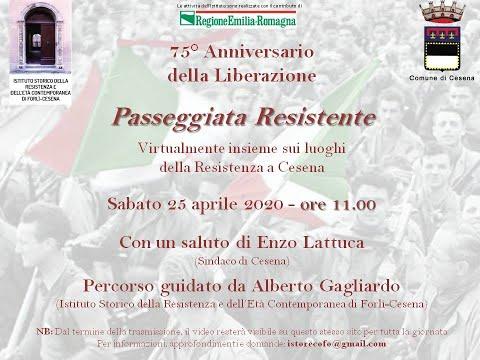 Comune di Cesena, speciale 25 aprile 2020 - 75° anniversario della Liberazione
