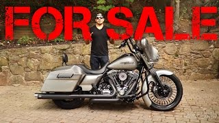 3. 2009 Harley Davidson Street Glide FLHX for Sale (Use Headphones for best sound)