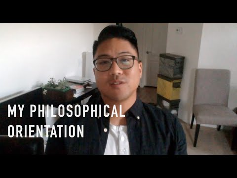 My Philosophical Orientation