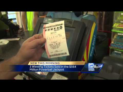 Powerball sells $1m winning ticket in Racine