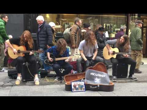 Irlantilaiset katusoittajat vauhdissa – Kovaa jammailua!