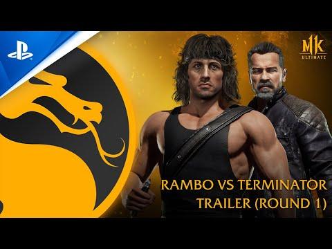 Mortal Kombat 11 Ultimate - Official Rambo vs. Terminator Trailer   PS4, PS5